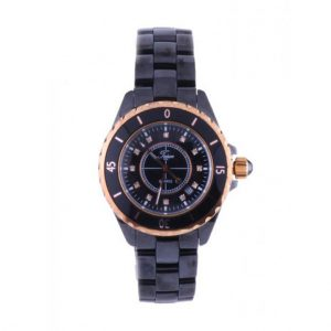 Jam tangan pria TEIWE CERAMIC ROSE GOLD SMALL TW2909G-LB